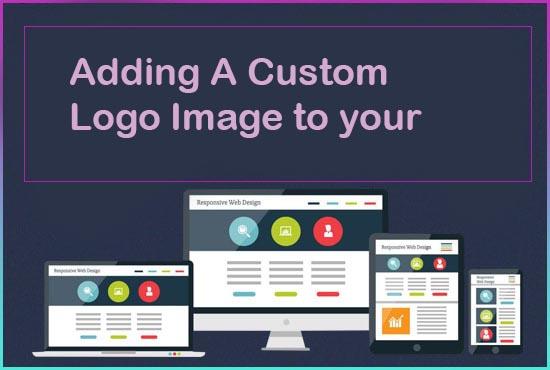 Adding A Custom Logo Image to your website