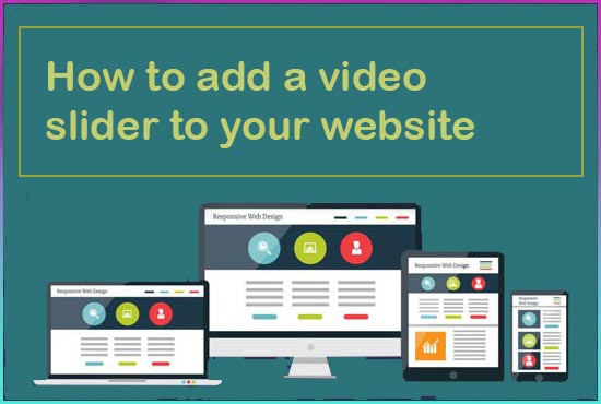 How to add a video slider to your website