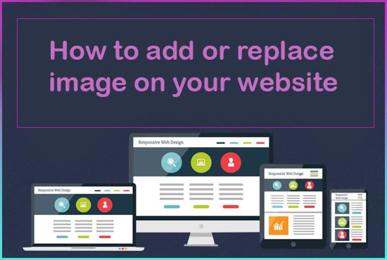 How to add or replace image
