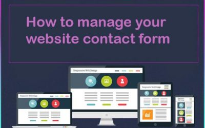 How to manage your contact form